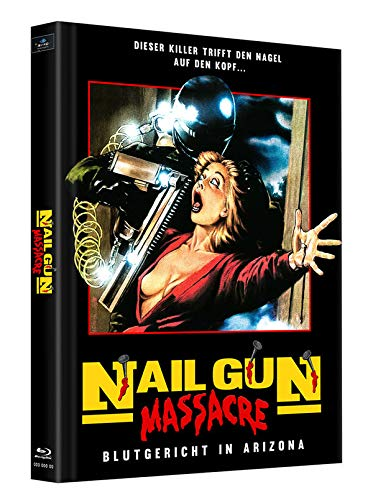 Nailgun Massacre - Mediabook - Cover B - Limited Edition auf 125 Stück (+ Bonus-Blu-ray: Die neunschwänzige Katze)
