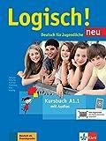 Logisch! neu a1.1, libro del alumno con audio online: Kursbuch A1.1 + Audios zum Download