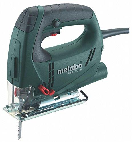 Metabo 601040900 601040900-Sierra de calar STEB 70 Quick 570W con maletín