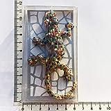 DONGMAISM 3D Español República Dominicana Turismo Mosaico conmemorativo Lagarto Gecko Imanes De Frigorífico Iman De Frigorífico para Decoración del Hogar (Color : E Gift Pack)