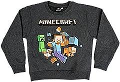Minecraft Camiseta de Manga Larga Oficial Aventura para Niños