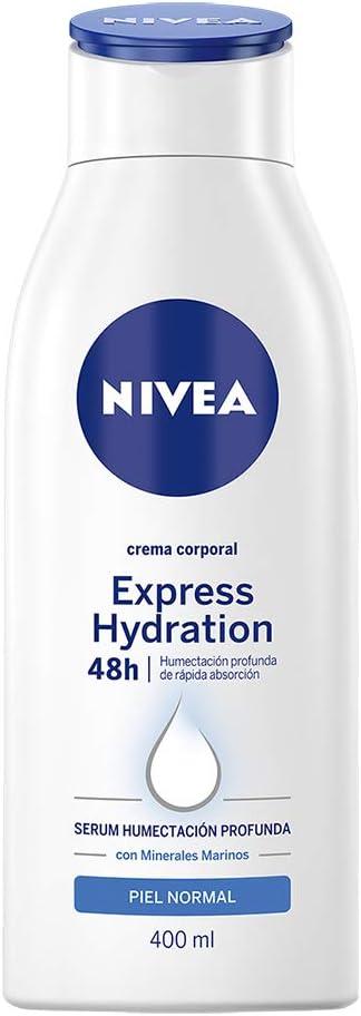 Nivea Crema Corporal Humectante Todo Tipo De Piel Express Hydration , 400ml : Amazon.com.mx: Belleza