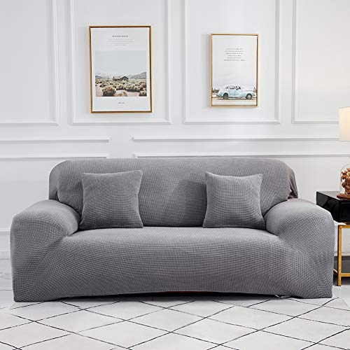 Sinoeem High Stretch Sofa Covers 1 2 3 4 Seater (Free 2 Cushion Covers) Non...
