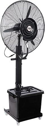 JIAYUAN 業務用大型ミストファン 産業用、商業用、住宅用、温室用屋外使用のための3つの冷却速度90°の振動させた台座ファンの銅モーター永続的なファンと霧の振動ファン 110V (サイズ さいず : 22inch-55cm-230W)