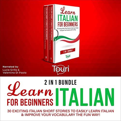 Learn Italian for Beginners - 2 in 1 Bundle cover art