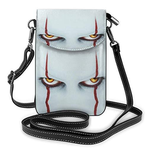 XCNGG Monedero pequeño para teléfono celular The Jo-Ker Leather Cell Phone Purse Crossbody Bags Small Shoulder Bag Travel Wallet Handbag With Adjustable Strap