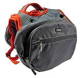 iEnergy MAE Hunderucksack - 2in1 Geschirr und Abnehmbarer Rucksack für