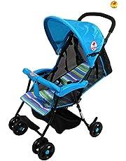 BAYBEE Shade - Baby Buggy Stroller (Blue)