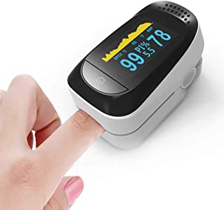4 in 1 Fingertip 0ximeter Fitness Sleep Monitoring,Oxygen Saturation Monitor with PR and P