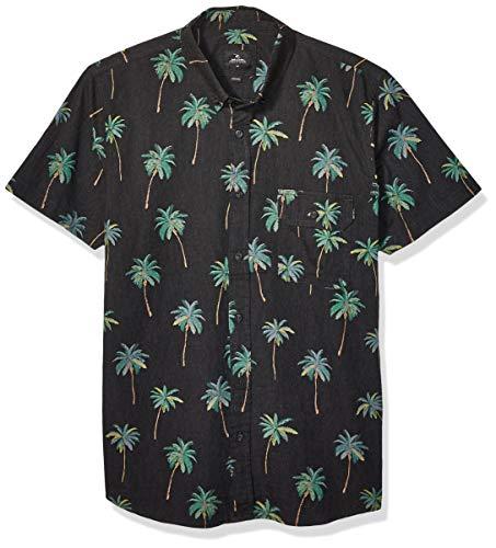 Rip Curl Torrey - Camisa de manga corta para hombre - Negro
