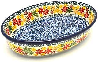 Polish Pottery Baker - Oval - Medium - Maple Harvest
