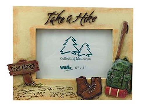 Take a Hike Photo Frame 8-inch, 4x6