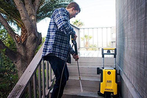 Stanley SHP2150 Electric Pressure Washer with Spray Gun, PSI 2150, 1.4 GPM