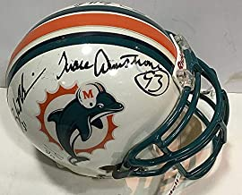 2001 Dolphins Autographed Signed Memorabilia Game Issued Helmet 7 Auto Zach Thomas Jason Taylor Coa 1/1 - Certified Authentic
