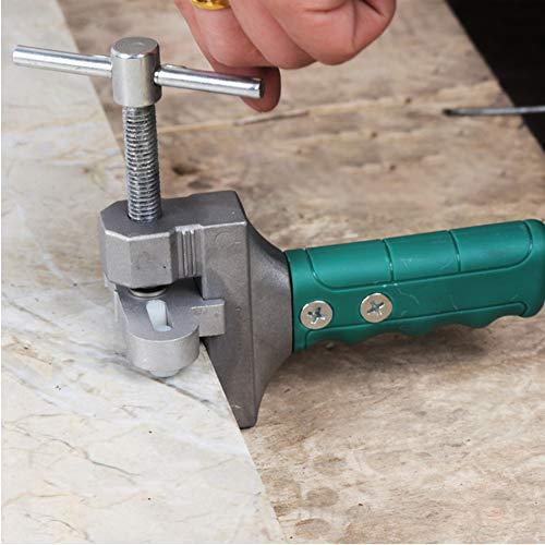 Almabner - Juego de cortadores de azulejos manual, multifunción, práctico cortador de rodillo de mano y abreazulejos de vidrio, No nulo, Como se muestra en la imagen, Tamaño libre
