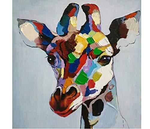 MDGCYDR Kits De Pintura De Diamante 5D De Bricolaje, Graffiti De Animales, Perro, Vaca, Calle, Arte De Diamante De Taladro Completo Redondo, Relajación Y La Decoración De La Pared del Hogar