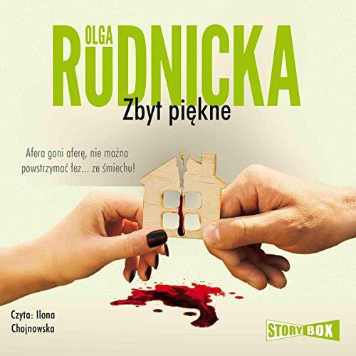 Diseño de la portada del título Zbyt piękne