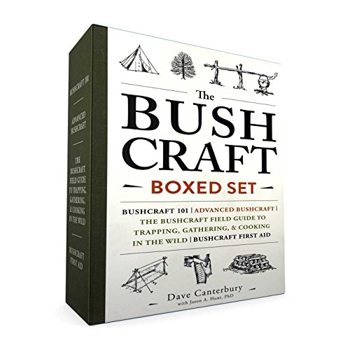 Compare Textbook Prices for The Bushcraft Boxed Set: Bushcraft 101; Advanced Bushcraft; The Bushcraft Field Guide to Trapping, Gathering, & Cooking in the Wild; Bushcraft First Aid Boxed Set Edition ISBN 9781507206690 by Canterbury, Dave,Hunt, Ph.D. Jason A.