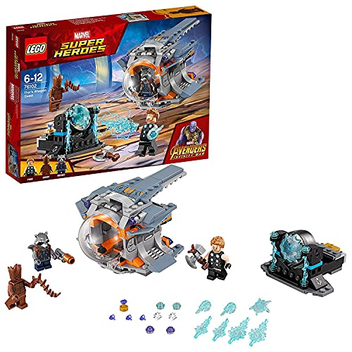 LEGO 76102 Super Heroes Aventura tras el...