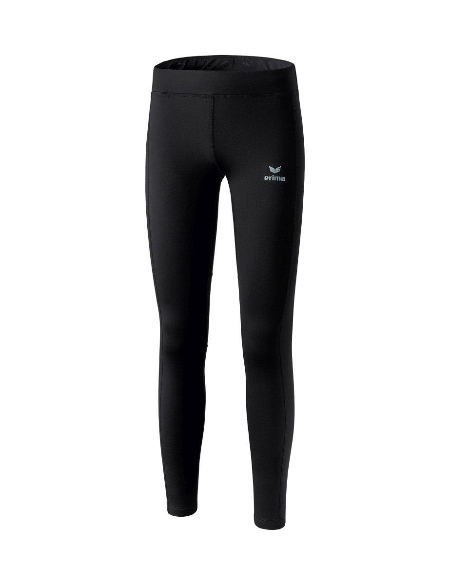 Erima Damen Performance Winterlaufhose, schwarz, 40