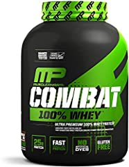 MUSCLE-BUILDING WHEY PROTEIN POWDER: MusclePharm's Combat 100% Whey is a muscle-building protein powder comprised of high-quality ingredients that help build muscle mass and assist in recovery AMAZING-TASTING WHEY PROTEIN MIX: Our whey protein 10-pou...