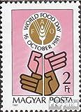 Prophila Collection Hungría 3509A (Completa.edición.) 1981 Día Mundial de la Alimentación (Sellos para los coleccionistas)
