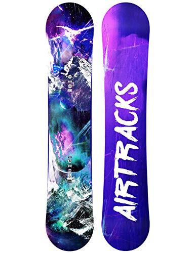 Airtracks High M Carbon snowboard Rocker All Mountain/Freestyle / 140 145 150 / cm