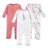 Hudson Baby baby girls Cotton Coverall, Woodland Fox, 6-9 Months US