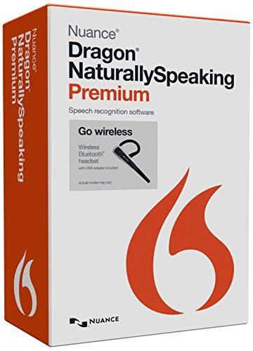 Dragon Naturally Speaking Premium 13.0 - Wireless [import anglais]