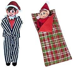 Elves Behavin Badly Elf Pyjamas & Sleeping Bag Elf Christmas Toy Figure with Accessories