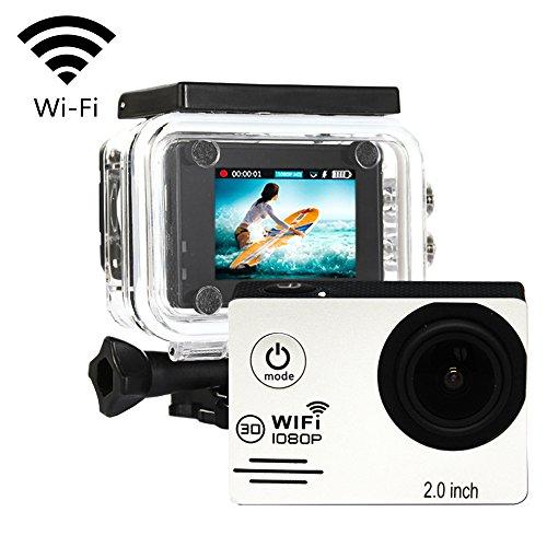 Action camera IMISON Mini macchina fotografica digitale impermeabile Con accessori per escursioni a piedi in bicicletta