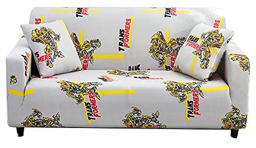 XMJFDMAI Funda de sofá, conjunto de sofá elástico todo incluido, toalla de sofá combinada (no incluye una funda de almohada) - A20_185-230cm