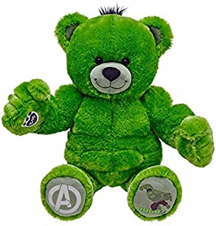 [Build-A-Bear 17 inches MARVEL Marvel Avengers Hulk Bear] Birudoabea genuine bear stuffed toy HULK [parallel import goods]