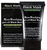 Peel Off Mask, Blackhead Remover Mask, Blackhead Mask Peel Off, Facial Masks, Purifying Peel-off Mask Black Mud Pore Removal Mask For Face Nose Acne Treatment Oil Control 1 PC