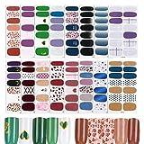 Imagen de FLOFIA 16 Hojas Pegatinas Uñas