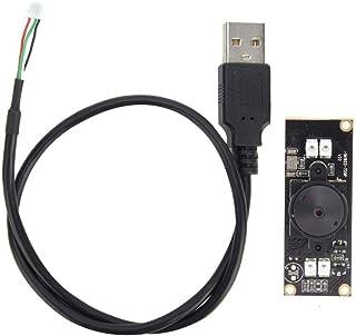Maxmartt USB Camera Module OV9712 Chip with HD Infrared Night Viewing Light 1280x720 30fps 56°