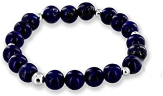 Gemstone Healing Chakra Bracelet Anxiety Crystal Natural Stone Men Women Stress Relief Reiki Yoga Diffuser Semi Precious