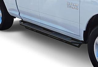APS iArmor 6.5in Nerf Bars Square Rocker Guards Custom Fit 09-18 Dodge Ram 1500 Quad Cab
