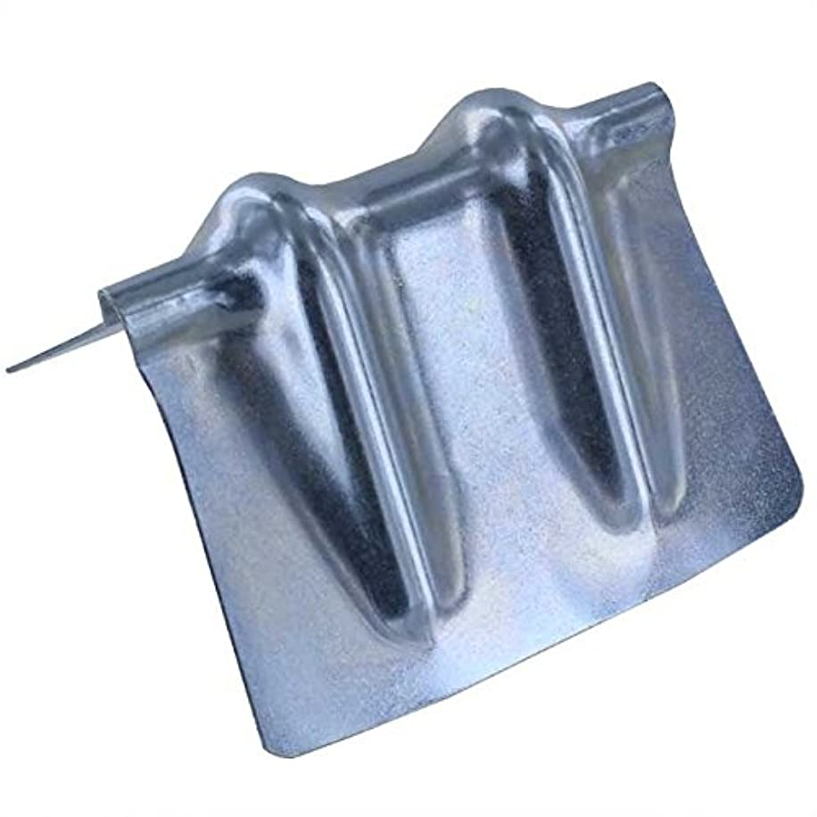 Corner Protector for Chain - Steel - Galvanized w/Groove