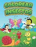 Colorear Insectos: Libro de Colorear para Niños de 3 a 9 Años (Spanish Edition)