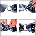 CUBY Pet Sling Carrier for Small Dogs, Cats, Puppies, Sling Backpack, Single-Shoulder Pet Bag for Travel, Adjustable Shoulder Straps 8