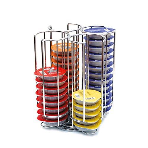 Yontree Porte Capsules Présentoir Distributeur Rotatif Pour 52 Capsules Tassimo