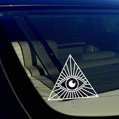 Alle zien oog vrijmetselaar regering Illuminati samenzwering Theorie Sticker 5