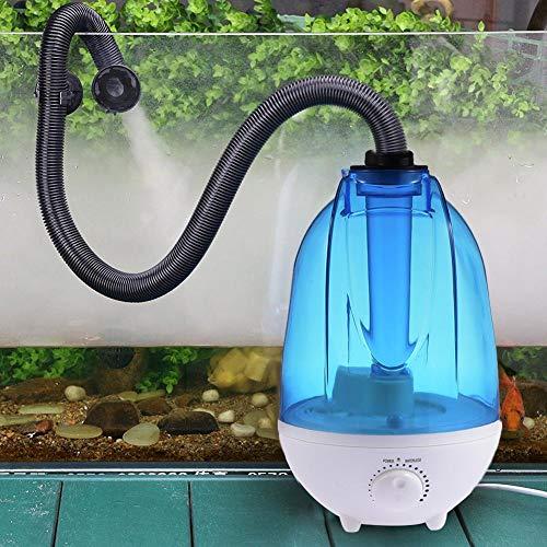 boastvi 4L Reptilien Luftbefeuchter, Wassertank Kein Lärm Nebelmaschine, Terrarium Vernebler für Echsenchamäleon Schlangen Terrarium