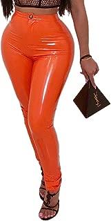 Best orange vinyl pants Reviews