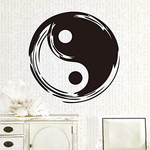 sanzangtang Tai Chi Pavillon Chinesischen Stil wandaufkleber entfernbare wandtattoos wasserdicht Vinyl Kunst Aufkleber Poster Kung Fu 30x30 cm