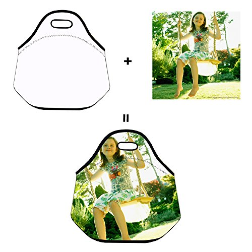 Custom Lunch Bag for Women Insulated Customizable Your Picture Lunch Tote for Girls Personalized Gifts for Kids