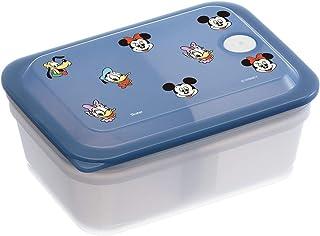 スケーター 弁当箱 銀イオン Ag+ 抗菌 ふわっと 盛れる パッキン 一体型 エアーバルブ付 1段 450ml ディズニー ミッキーマウス PAS5AG