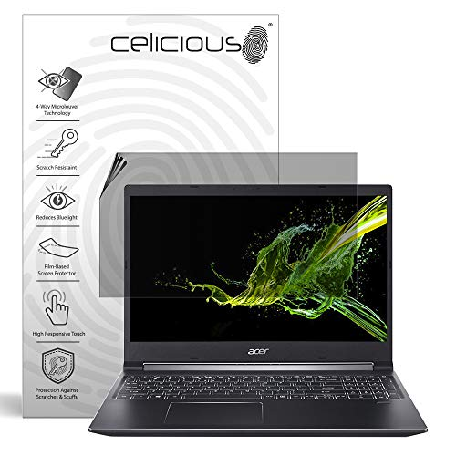 Great Deal! Celicious Privacy Plus 4-Way Anti-Spy Filter Screen Protector Film Compatible with Acer ...