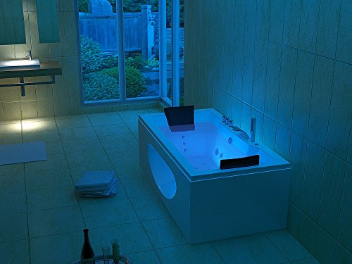 Luxus Whirlpool Badewanne 180×90 in Vollausstattung (Massage) – Sonderaktion - 3